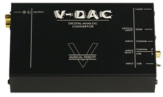 Musical Fidelity V-DAC. Ugly but functional